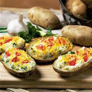 Twice baked potatoes photo 2