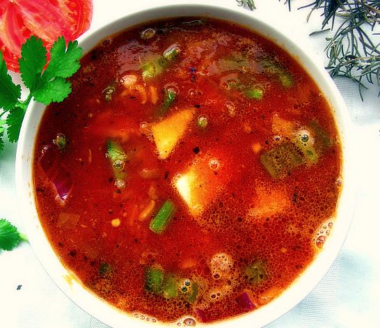 Unstuffed pepper soup photo 3