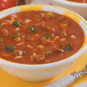 Unstuffed pepper soup photo 1