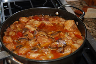 Veal stew photo 3