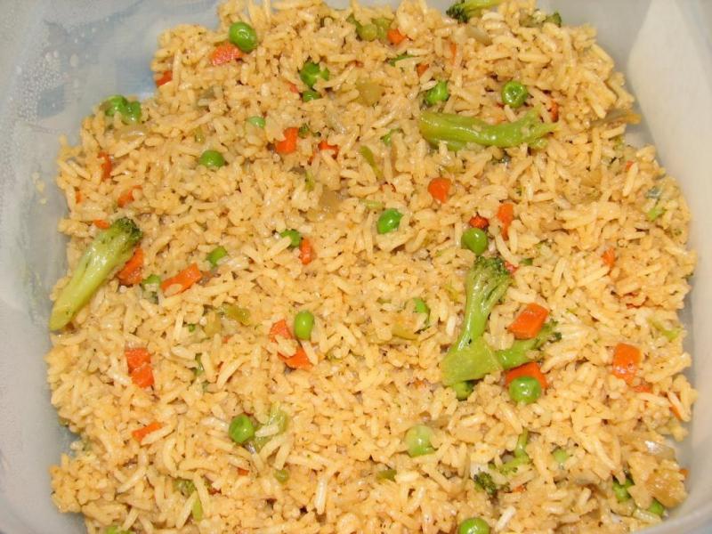 Vegetable rice photo 1
