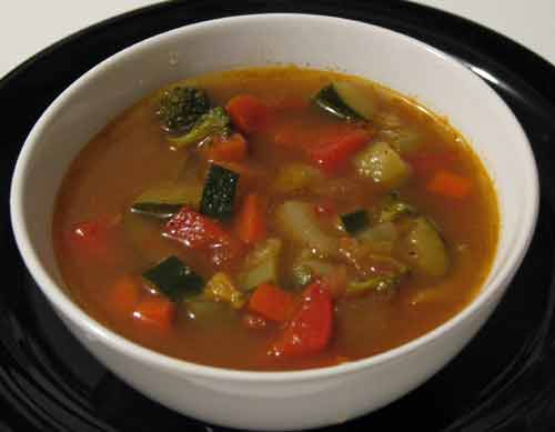 Vegetable soup photo 3