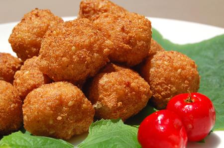 Vegetarian meatballs photo 2