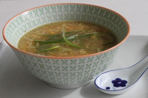 Velvet corn soup photo 2