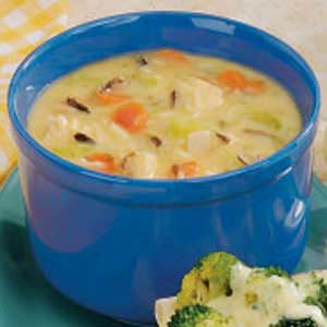 Wild rice soup photo 3