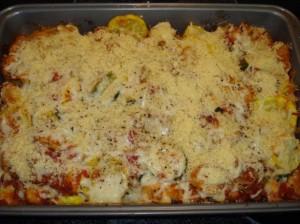 Zucchini squash casserole photo 1