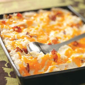 Baked mashed potatoes photo 1