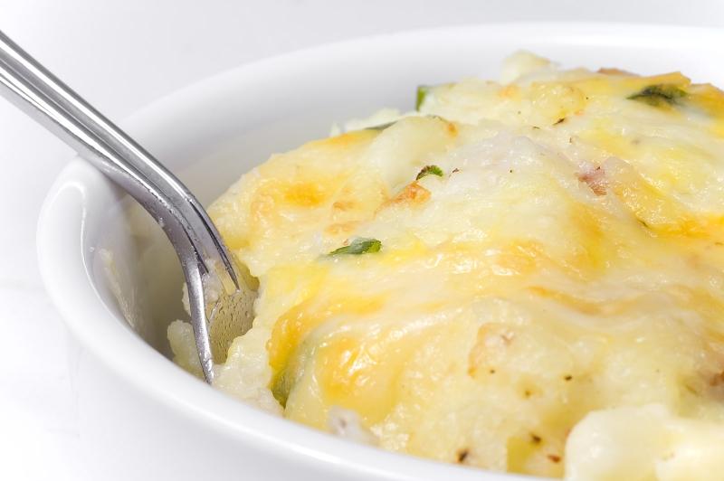 Baked mashed potatoes photo 2