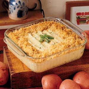 Baked mashed potatoes photo 3