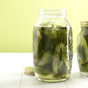 Easy refrigerator pickles photo 2