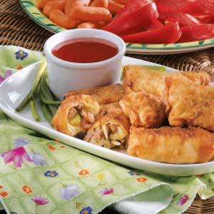 Pork egg rolls photo 1