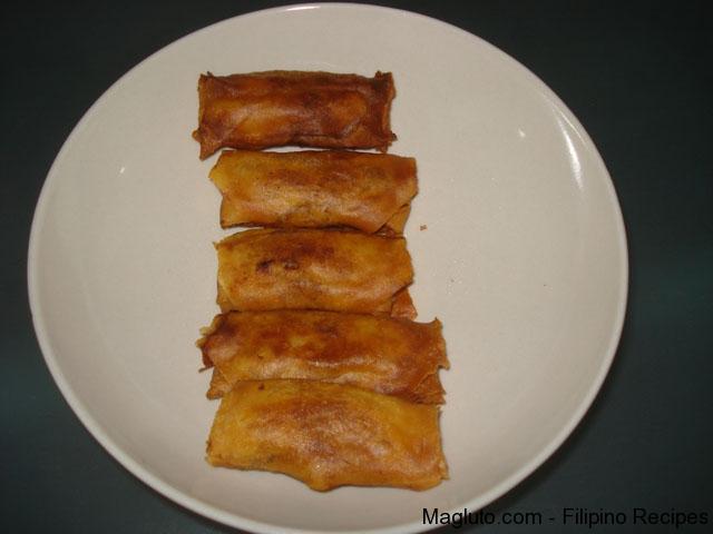 Pork egg rolls photo 3