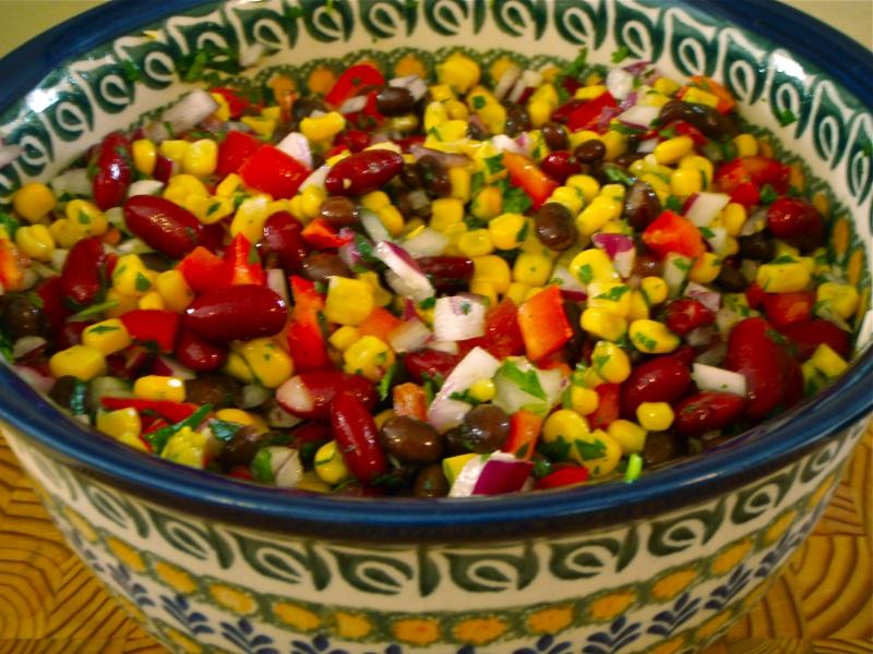 Black bean and corn salad photo 3