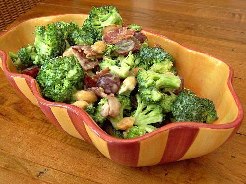 Broccoli and bacon salad photo 2