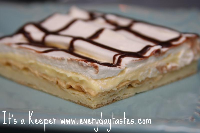 Chocolate eclair dessert photo 1