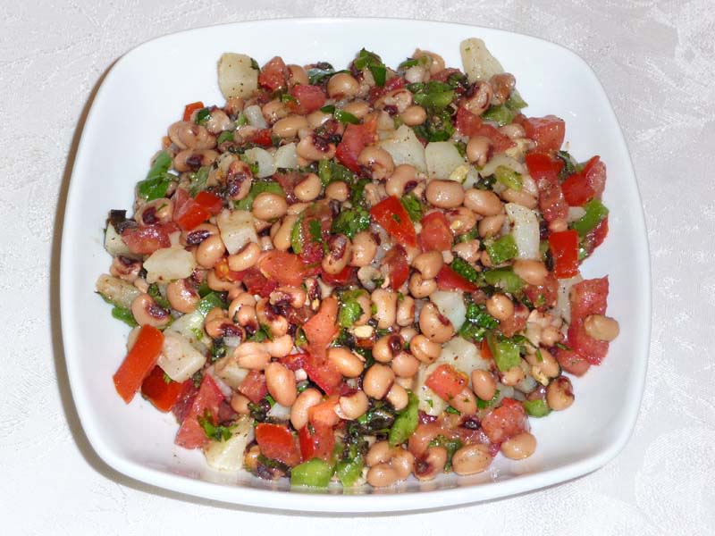 Black-eyed pea salad photo 2
