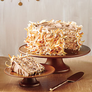 Cream caramel cake photo 1