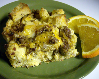 Sausage and egg breakfast casserole photo 2