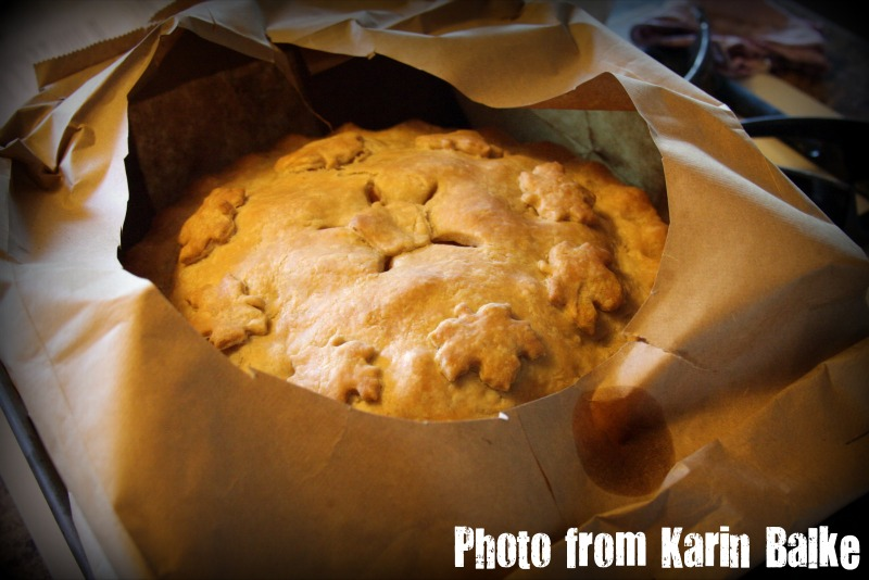 Brown bag apple pie photo 2