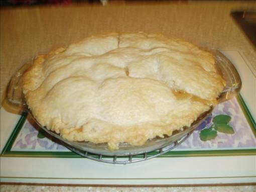Brown bag apple pie photo 3