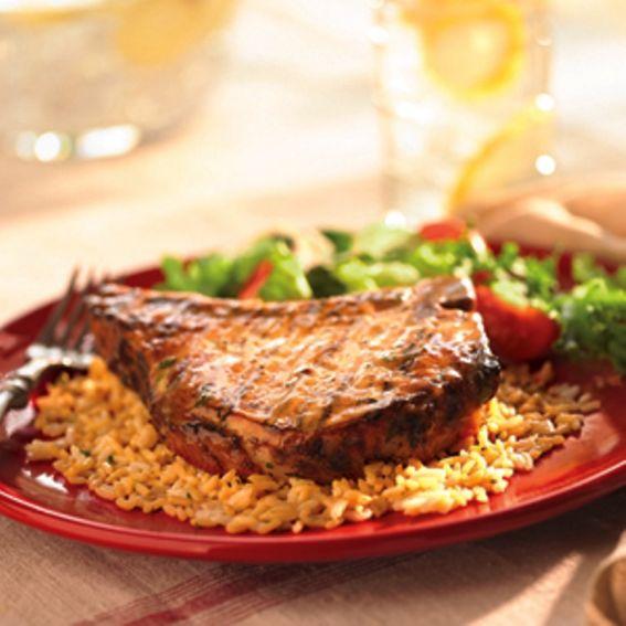 Grilled pork chops photo 2