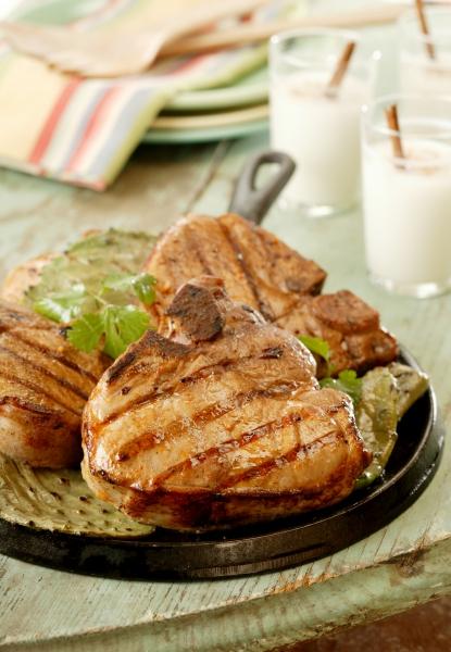 Grilled pork chops photo 3