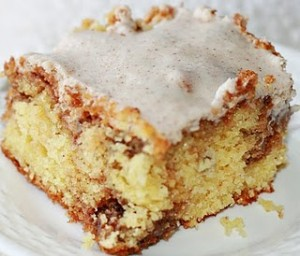 Honey bun cake photo 1