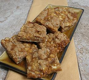 Caramel apple bars photo 1