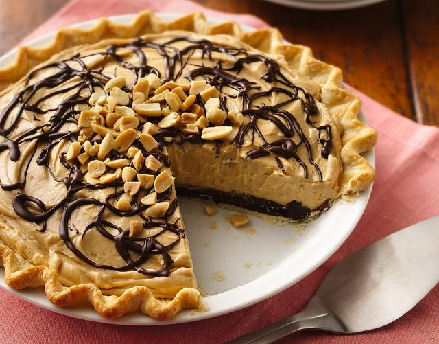 Chocolate peanut butter pie photo 1