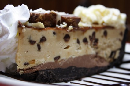 Chocolate peanut butter pie photo 2