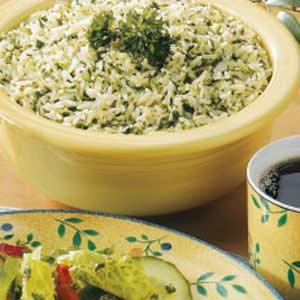 Green rice photo 1