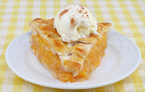 My favorite peach pie photo 3