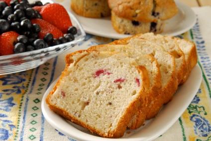 Strawberry bread photo 2