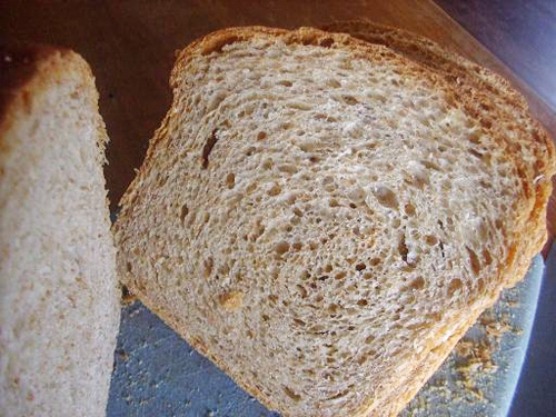 Whole wheat bread photo 2