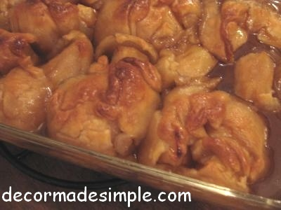 Apple dumplings photo 1