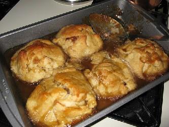 Apple dumplings photo 3