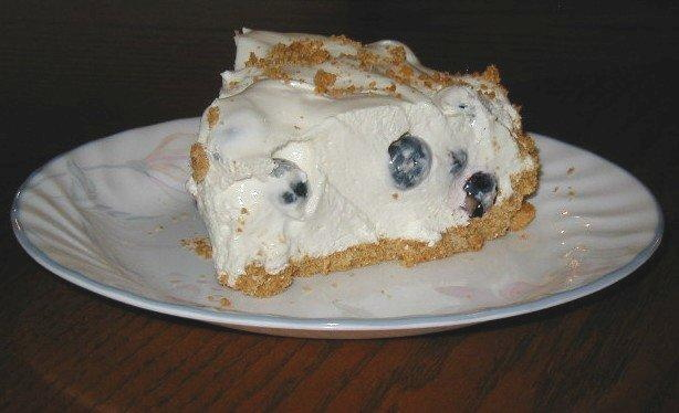Low fat blueberry dessert photo 3