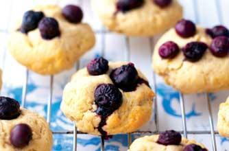 Low fat blueberry dessert photo 1