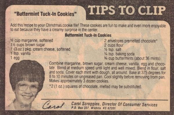 Mint surprise cookies photo 2