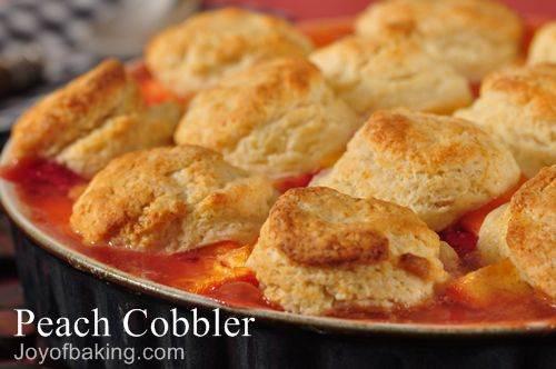 Peach cobbler photo 3
