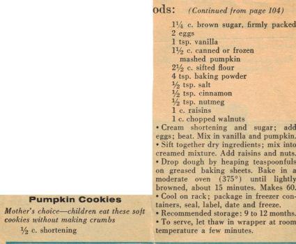 Pumpkin cookies photo 2