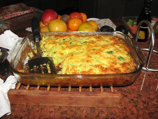 Broccoli cornbread photo 3