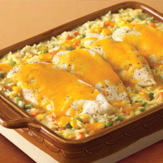 Chicken vegetable casserole photo 2