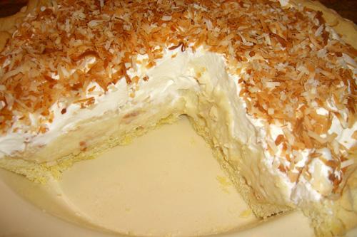 Coconut pie photo 1