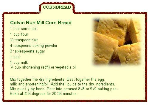 Corn bread photo 1