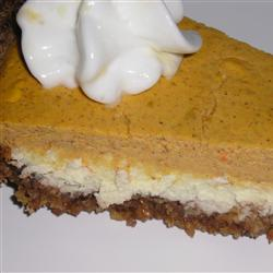 Double layer pumpkin cheesecake photo 2