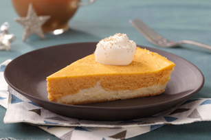 Double layer pumpkin cheesecake photo 3