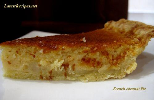 French coconut pie photo 2