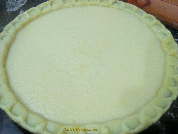 French coconut pie photo 1