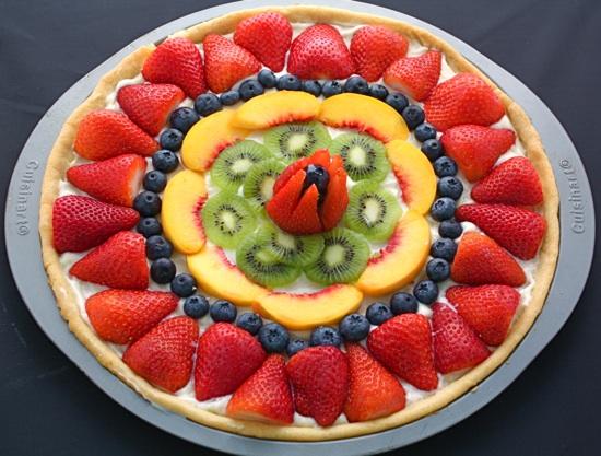 Fruit pizza photo 2